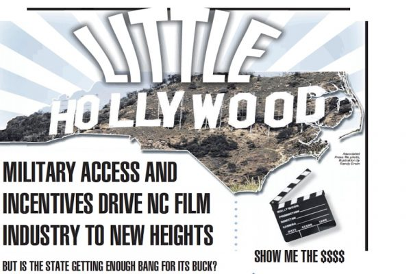 Little Hollywood: Military Access, Incentives Drive N.C. Film Industry