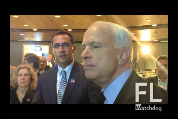 Sen. John McCain pushes against defense cuts to save military contractors, economy