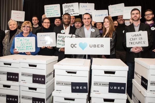La dure vérité d'Uber à l'Assemblée nationale