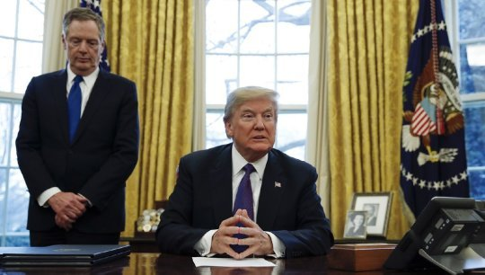 Workers can't afford tariffs or a trade war, President Trump