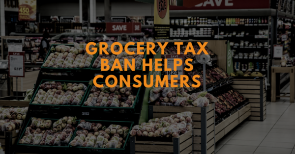 A ban on local grocery taxes helps Washington consumers