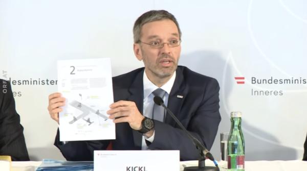 Kickl seeks detention of 'dangerous' refugees