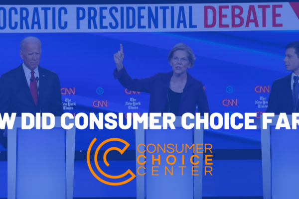 Democratic Presidential Debate: How did consumer choice fare?
