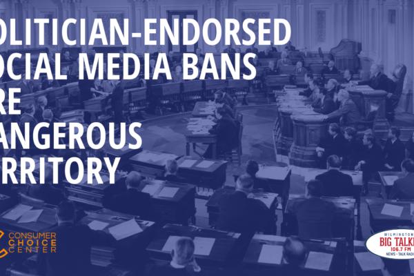 Politician Endorsed Social Media Bans Are Dangerous Territory