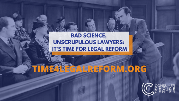 Bad Science, Unscrupulous Lawyers: It's Time For Legal Reform