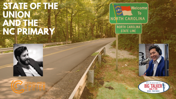Yaël on Joe Catenacci Show: SOTU and the North Carolina Primary