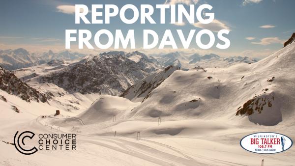 Yaël on Joe Catenacci Show: Reporting from Davos