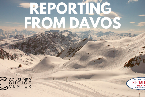 Yaël on Joe Catenacci Show: Reporting from Davos