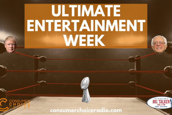 Ultimate Entertainment Week – Consumer Choice Radio (8. Feb. 2020)