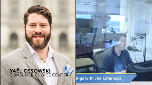 Yaël on Joe Catenacci Show: #defundWHO, Austria update, iRacing