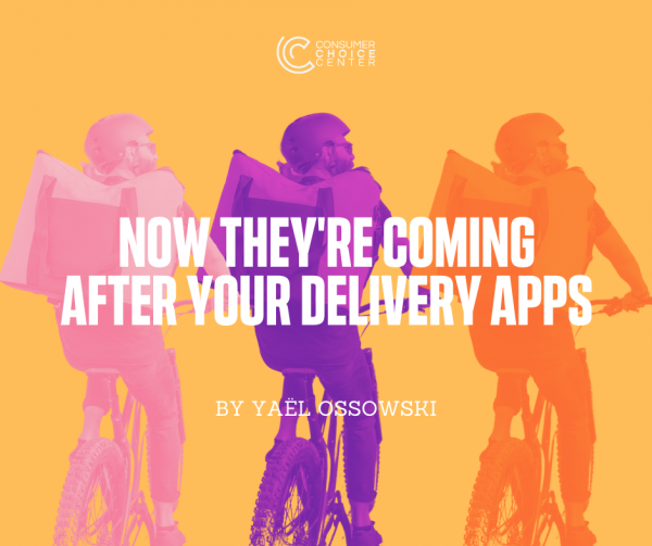 Now They're Coming After Your Delivery Apps
