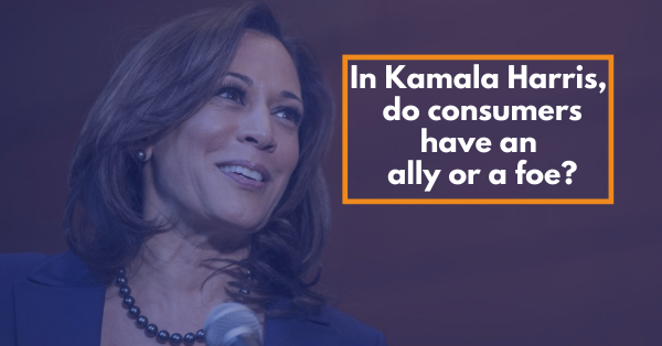 In Kamala Harris, do consumers have an ally or a foe?