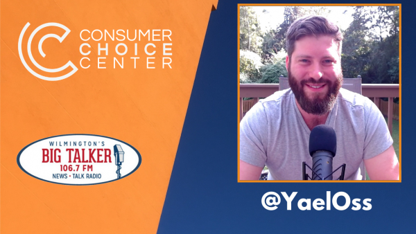 Yaël on Joe Catenacci Show: Alcohol guidelines, COVID Liability, Cali wildfires and energy policies