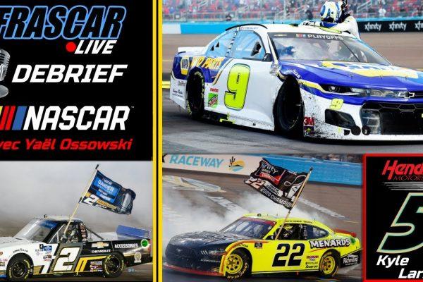 FRASCAR: DEBRIEF NASCAR – CHASE ELLIOTT CHAMPION – AVEC YAEL OSSOWSKI