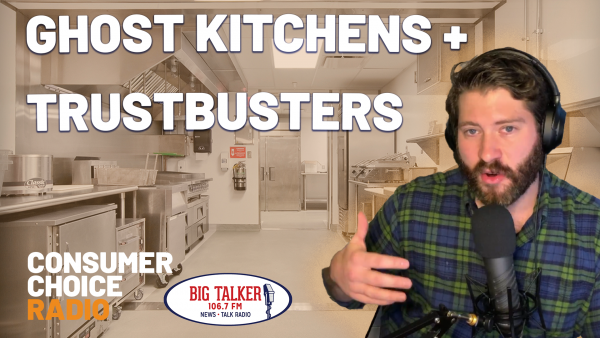 Ghost kitchens, Anthony Bourdain, and Facebook Trustbusters (Yaël on Joe Catenacci Show)
