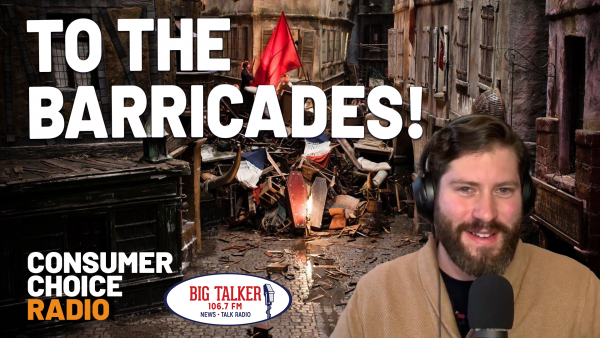 To the Barricades! (Yaël on Joe Catenacci Show)
