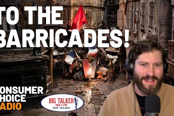 To the Barricades! (Yaël on Joe Catenacci Show)