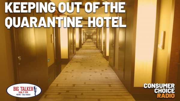Keeping out of the Quarantine Hotel (Yaël on Joe Catenacci Show)