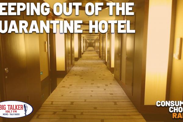 Keeping out of the Quarantine Hotel (Yaël on Joe Catenacci Show)
