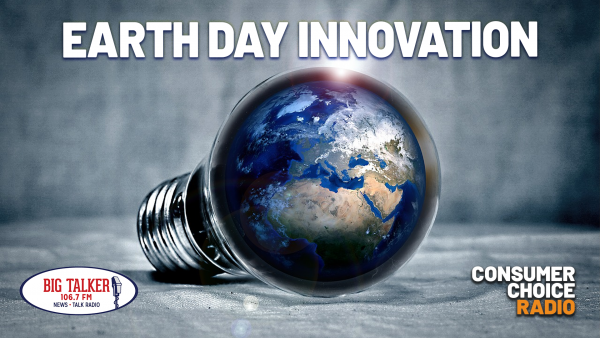 Earth Day Innovation (Yaël on Big Talker FM with Joe Catenacci)