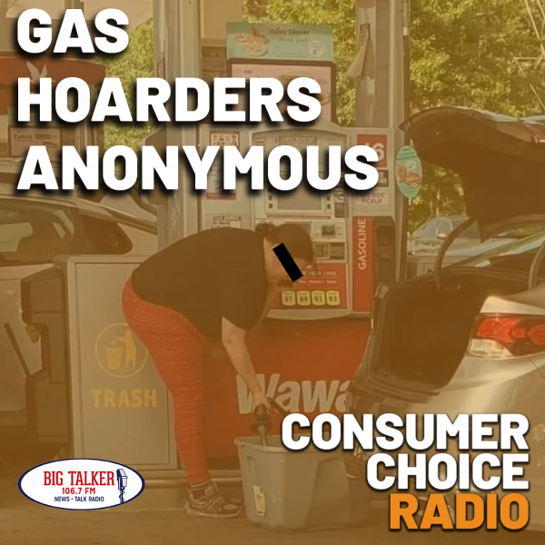 Gas Hoarders Anonymous (Yaël on Big Talker FM w/ Joe Catenacci)
