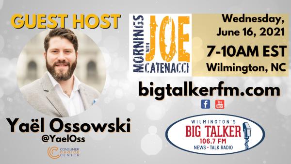 Guest-Hosting Big Talker FM Morning Radio Show: June 16, 2021